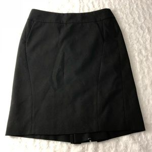 Ann Taylor a Line layer career pocket skirt Sz 8